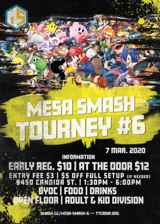 Mesa Smash March #6