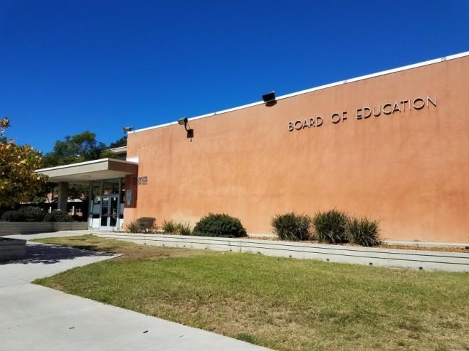 Board of Education Building taken from Union Tribune File
