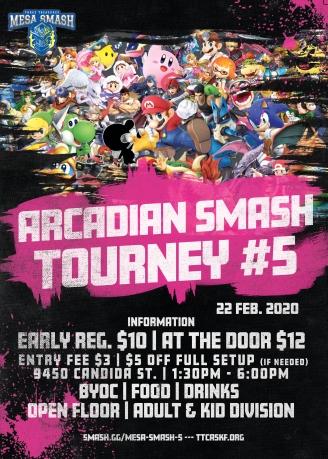 Mesa Arcadian Smash #5