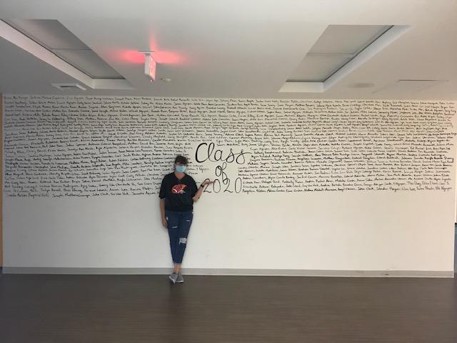 MMHS Class of 2020 wall - Pamela Stevens