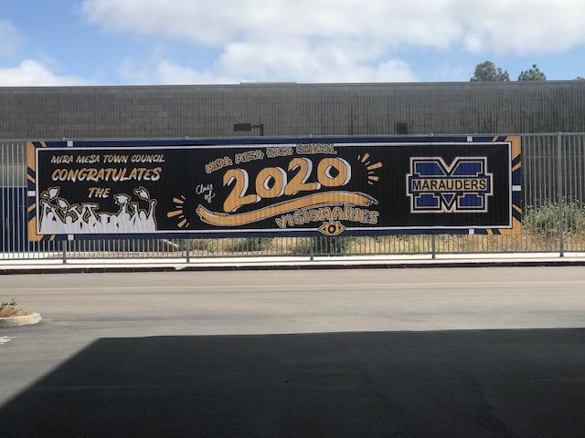 MMTC Banner Congratulating MMHS 2020 Visionaries - Pamela Stevens